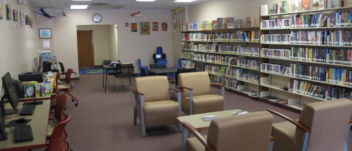 West End branch interior