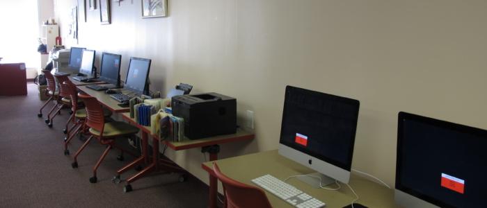 public computers at West End branch
