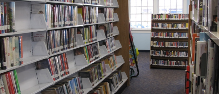 Point Lookout branch bookcases