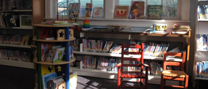 Point Lookout branch children's section
