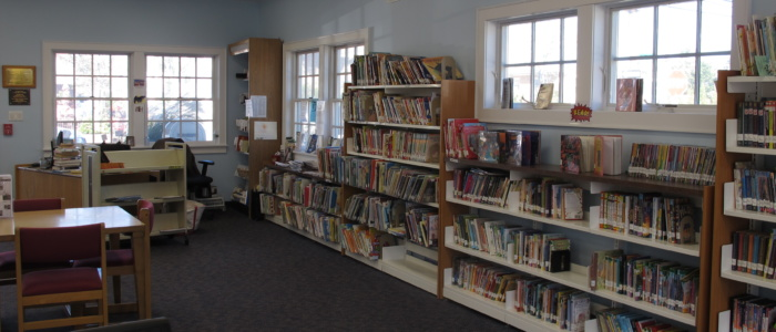Point Lookout branch interior