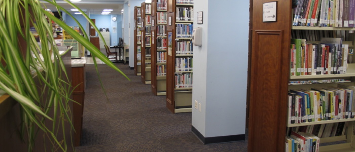 main library nonfiction section